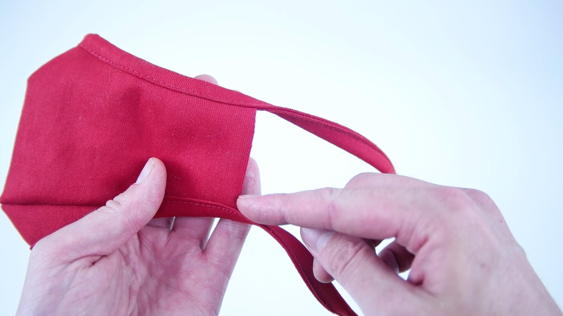 Bias Tape Tie Back Method