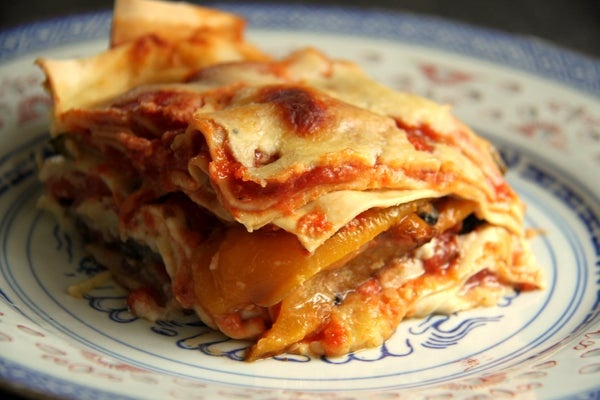 Lasagne With Roasted Vegetables