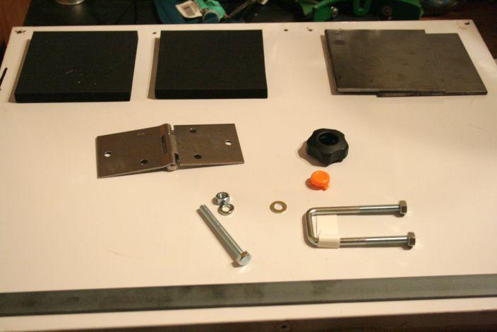 "Mini Molding Press for ""Kydex"" Plastic Sheets"