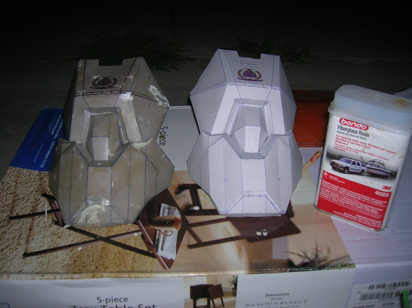 Halo ODST Armor: Arms - Part of ODST Armor Build