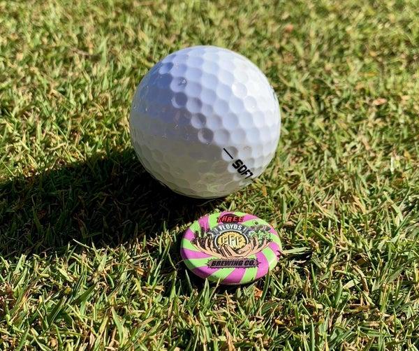 Bottle Cap Golf Ball Marker