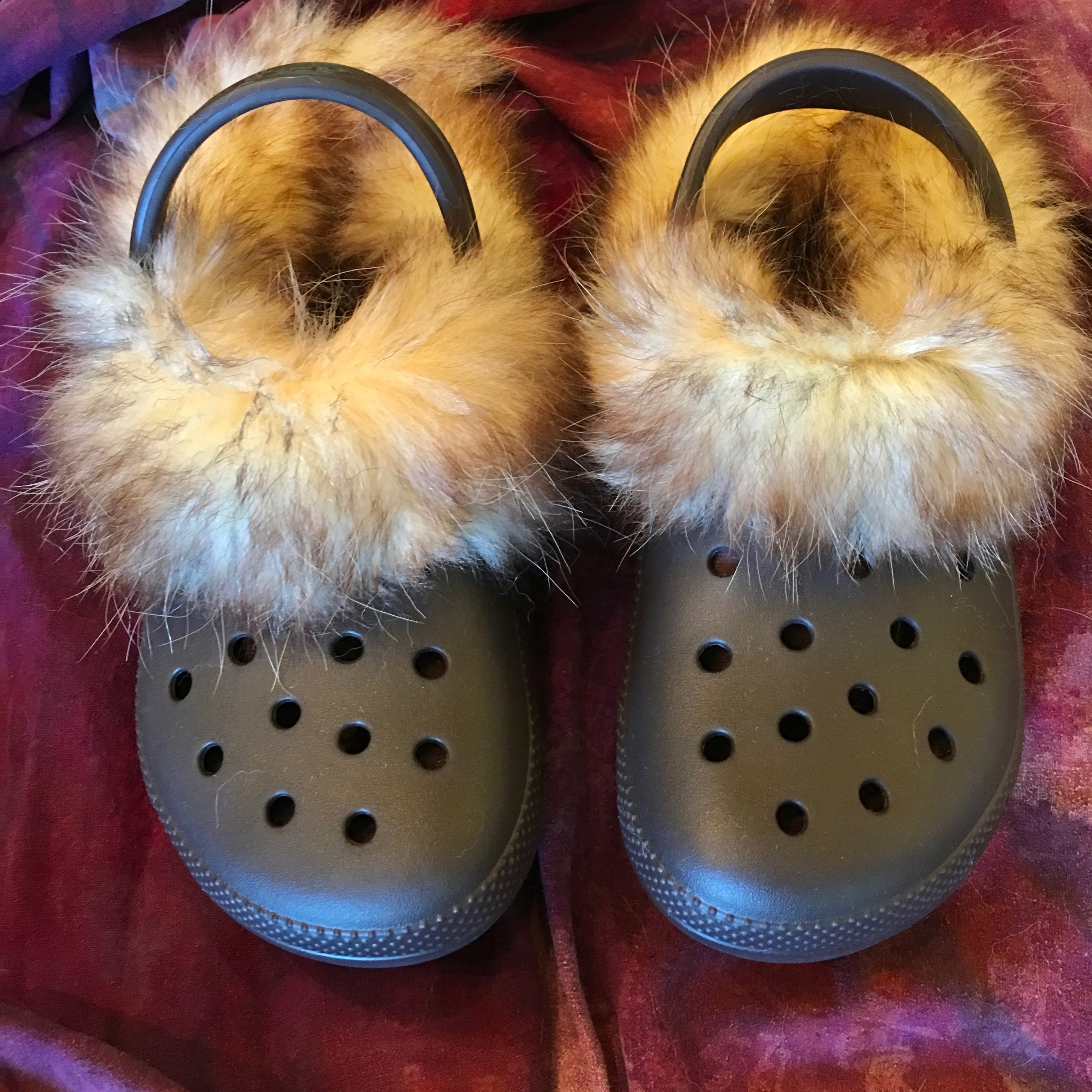 Fur Lined Crocs : 8 Steps (with
