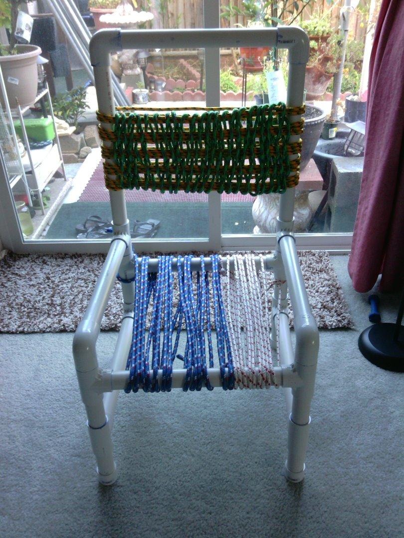 PVC Pipe Chair