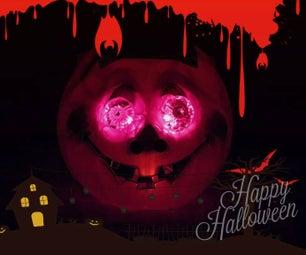 Interactive Halloween Pumpkin (Arduino Based)