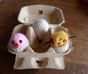 Crochet Silly Eggs