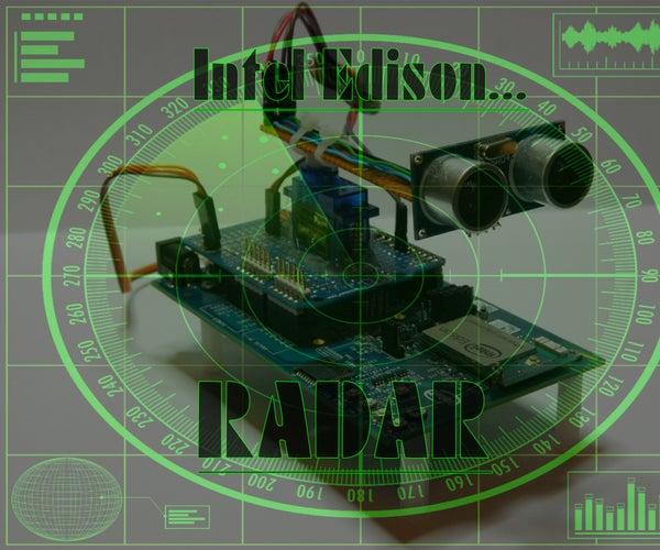 Intel Edison: Radar