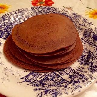 Dark Chocolate Crêpes