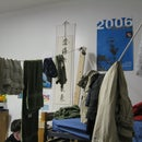Dorm Clothes Line