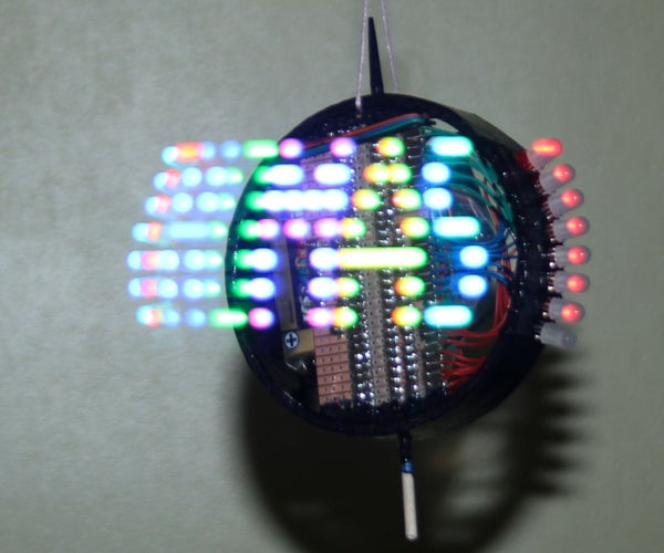 Persistence of Vision Bauble. POV Decoration.