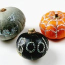 Diy Sequin Pumpkins