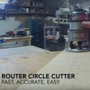Router Circle Jig For ANY Router