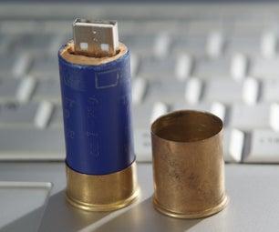 Shotgun Shell USB Stick Case