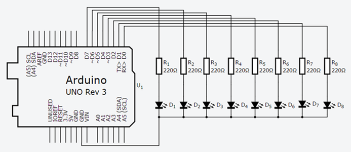 Now Try to Mount the Following Schematic Diagram on Breadboard: