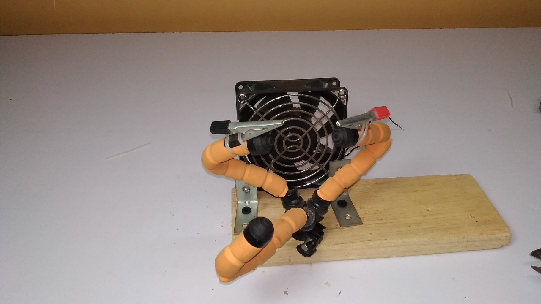 Placing Fan and Stand