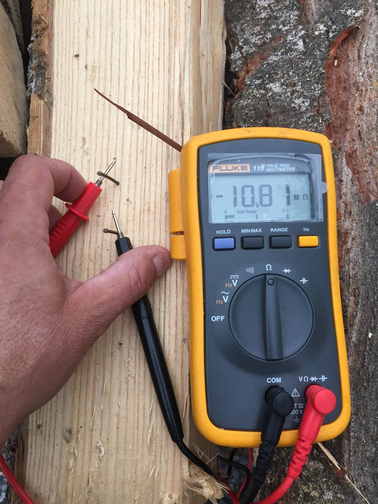 Measuring the Resistance of Your Firewood