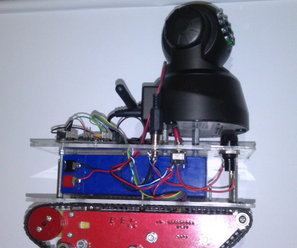 Control Your Arduino Camera  Robot From Your PC