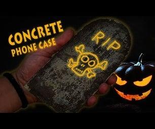 Concrete Phone Case for Halloween