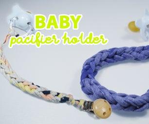 DIY Pacifier Clip Holder