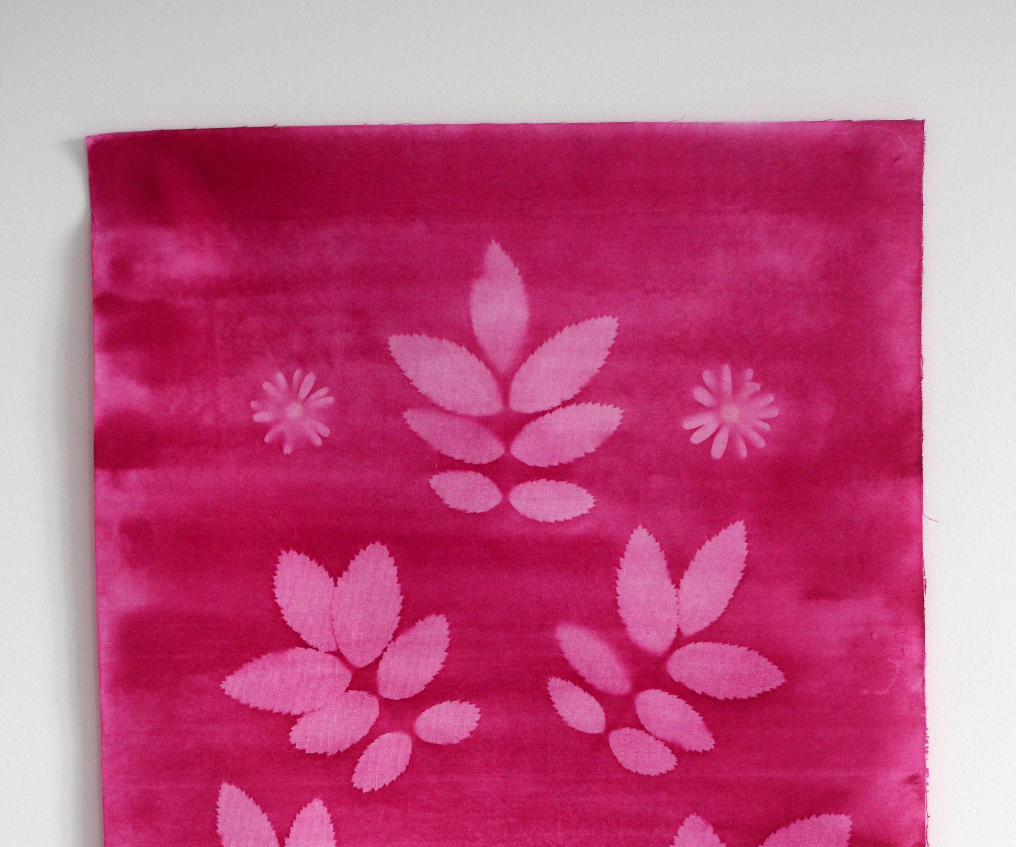 Sun printed fabric