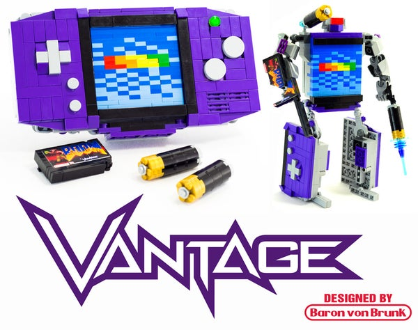 "Transforming LEGO Game Boy Advance - ""Vantage"""