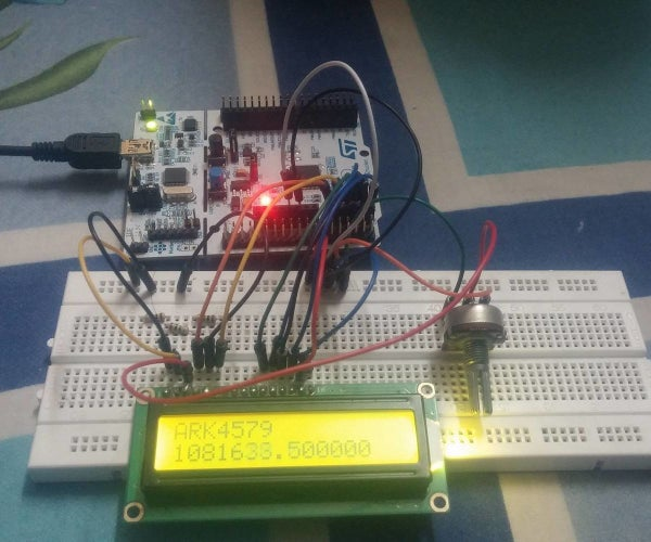STM32F103: Interfacing LCD 16x2 (using Mbed.h)
