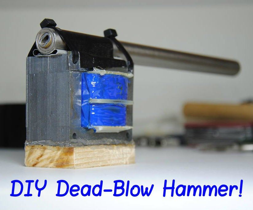 Make Your Own Non Dead Blow Hammer 8 Steps With Pictures Instructables Test out our hammers for maximum striking force. make your own non dead blow hammer 8