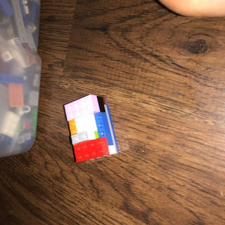 THE TINIEST LEGO LOCK MECHANISM