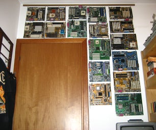 Hanging Motherboards on Walls