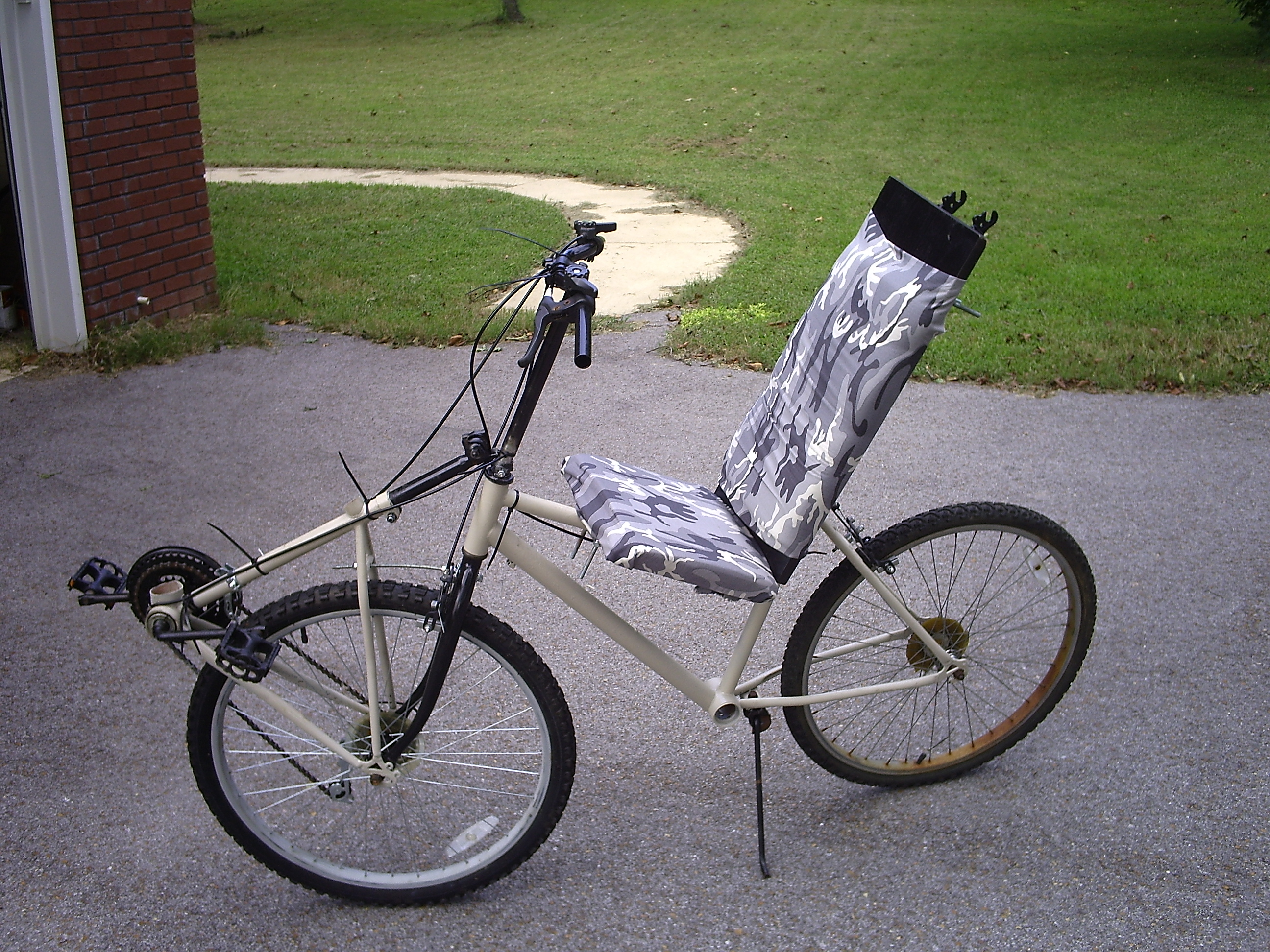 No Weld Recumbent - Modifications