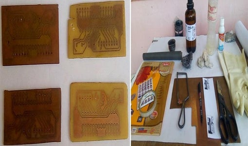 Home Made PCBs – a Step by Step Guide to Build PCBs in Your Home