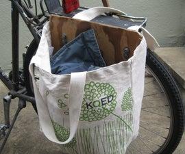 DIY Bicycle Pannier (Saddle Bag)