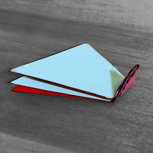Fold the Smallest Triangle at the Top As Well
