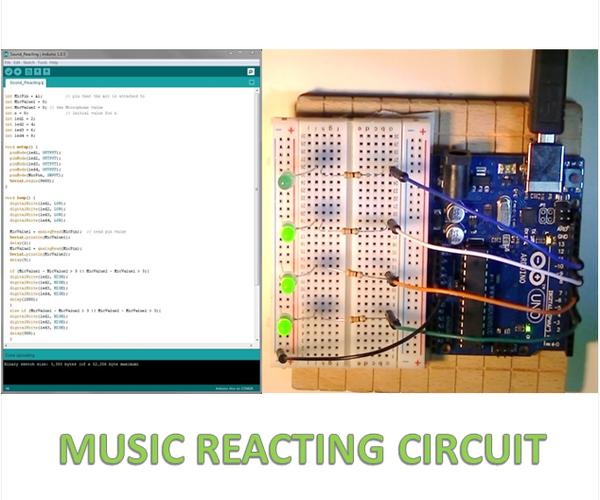 Music Reacting Circuit