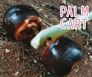 Palm Cart Using Palm Fruit