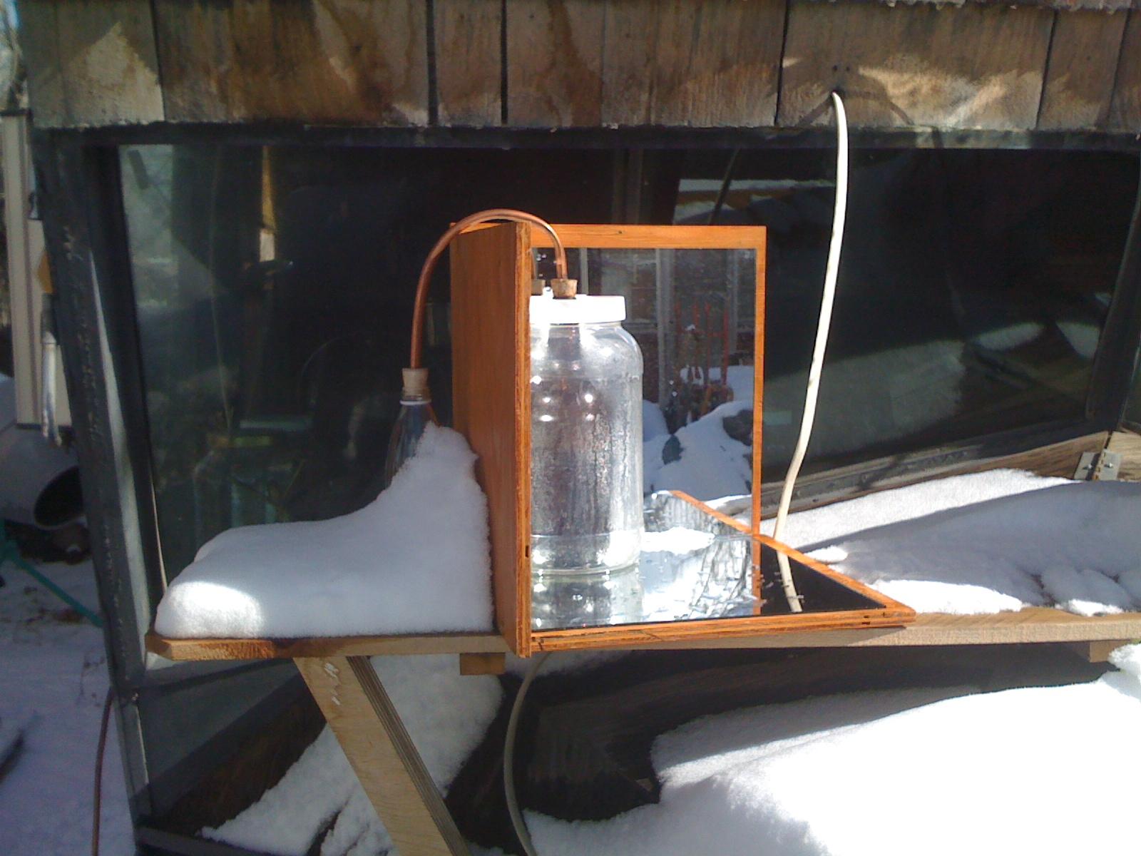 Build a simple solar still