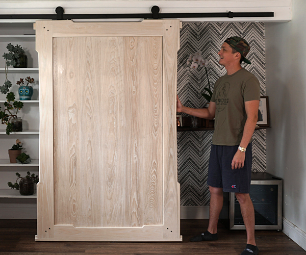 Timber Frame Sliding Barn Door