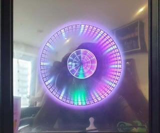Easy - Infinity Mirror Clock