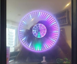Easy - Infinity Mirror Clock
