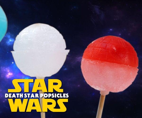 Star Wars Death Star Popsicles