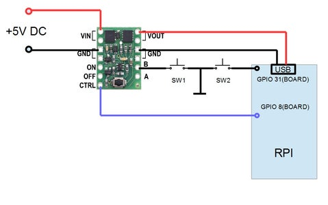Connect Pololu Board to Your RPi