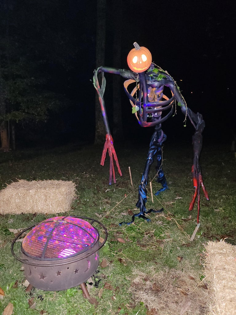 Paint, Add Lights, and Ready for Trick-or-Treat