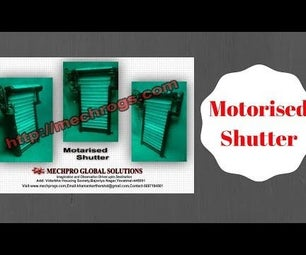 Motorised Rolling Shutter