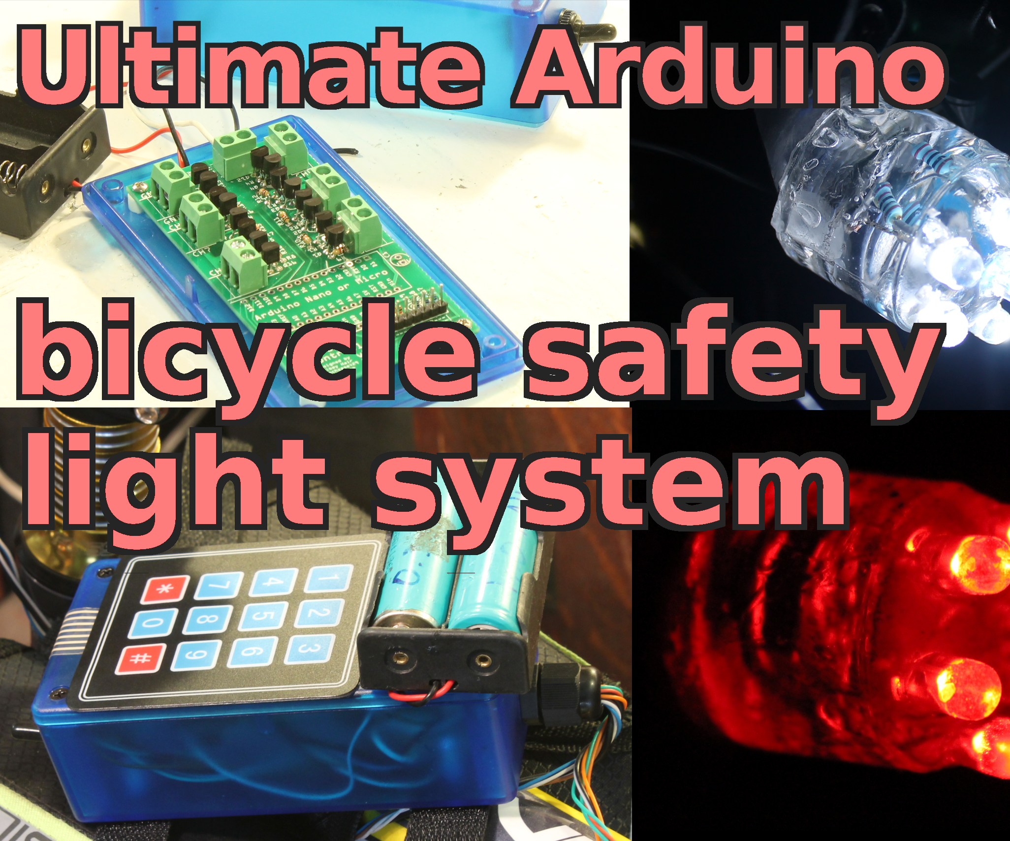 How to build the ultimate bicycle safety light system