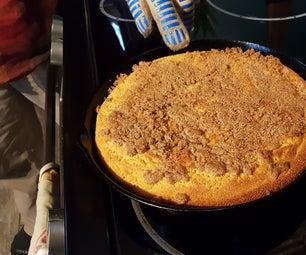 GF Cast Iron Coffee Cake