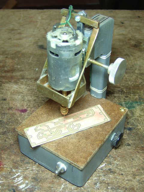 Micro Drill Press revision A