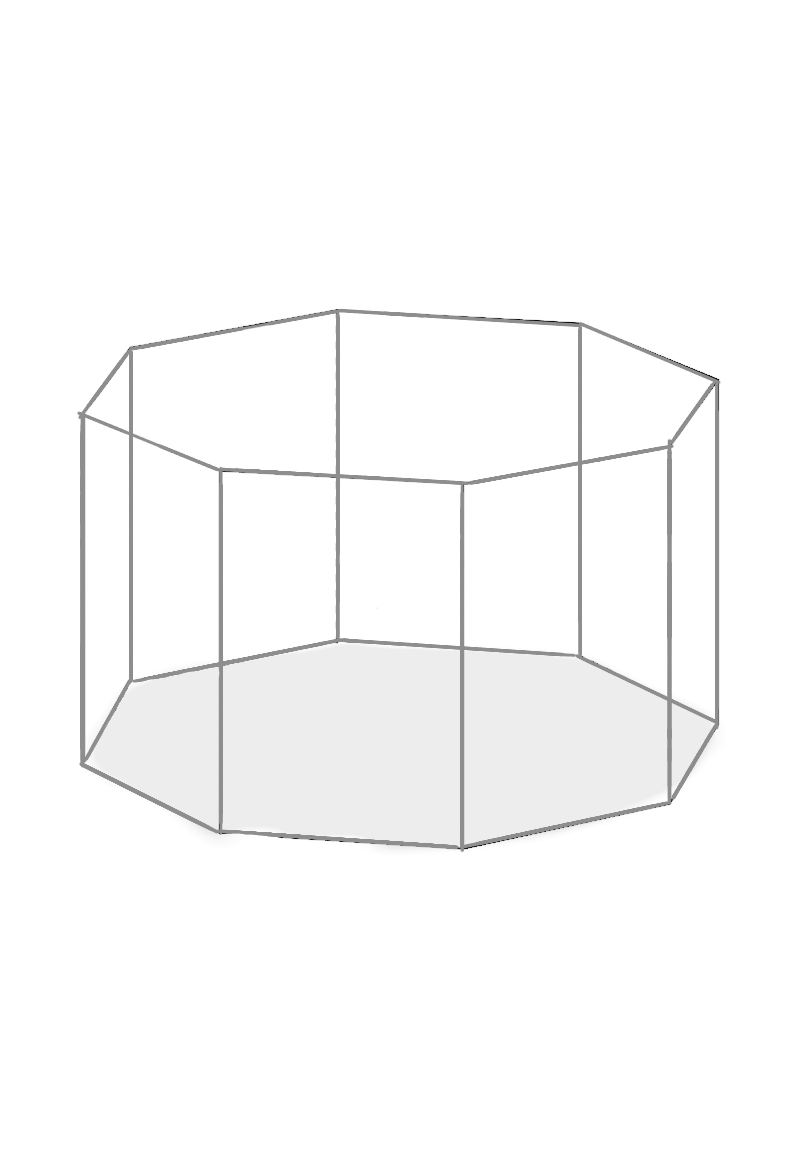 Assembling the Inner Layer (octagonal Prism)