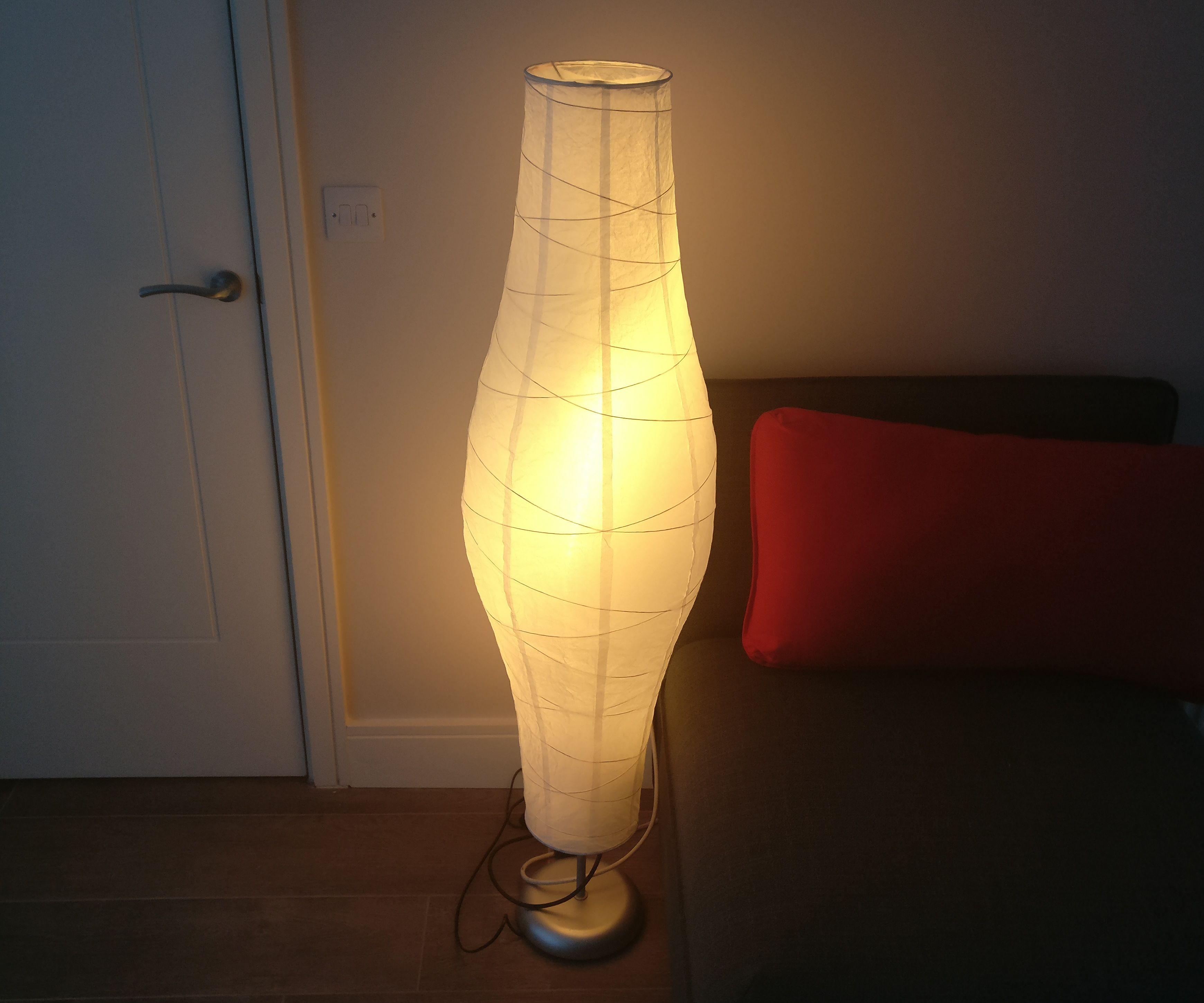 Arduino-based green&glowing Ikea Dudero lamp