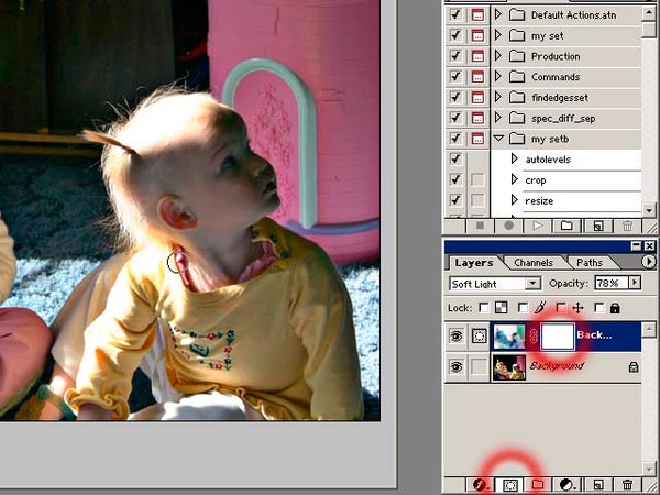 Photoshop 104:  Digital Flash Fill