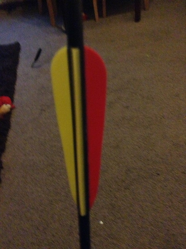 How to Straighten Arrow Fletchings!