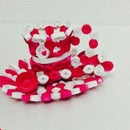 QUILLED CUP,SAUCER AND SPOON